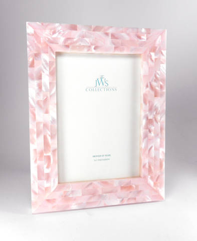 jws mother of pearl picture frames pink mother of pearl